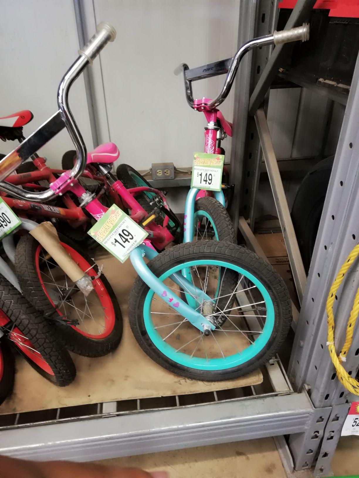 Bodega aurrera Arandas Bicicleta next royalt