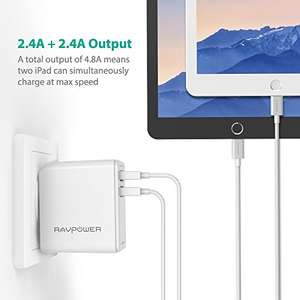 Amazon: Cargador usb doble en oferta relampago