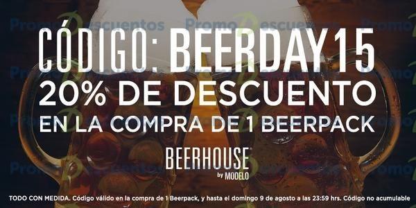 Beerhouse: 20% de descuento en 1 beerpack