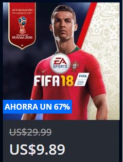 Playstation Store: Fifa 18