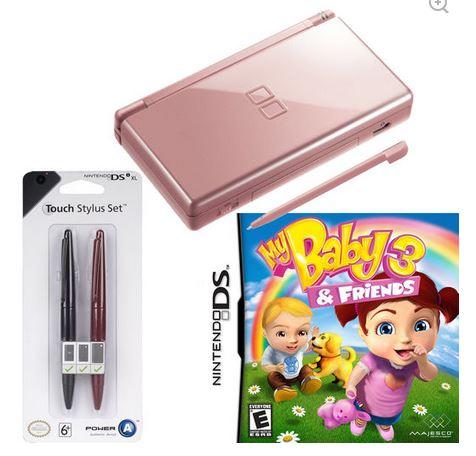 Privalia: Nintendo DS + Stylus set + Videojuego por $649 ó Nintendo DSi $799 y más de Nintendo