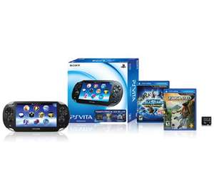 Sam's Club: PS Vita bundle de consola + 2 juegos + memoria $999