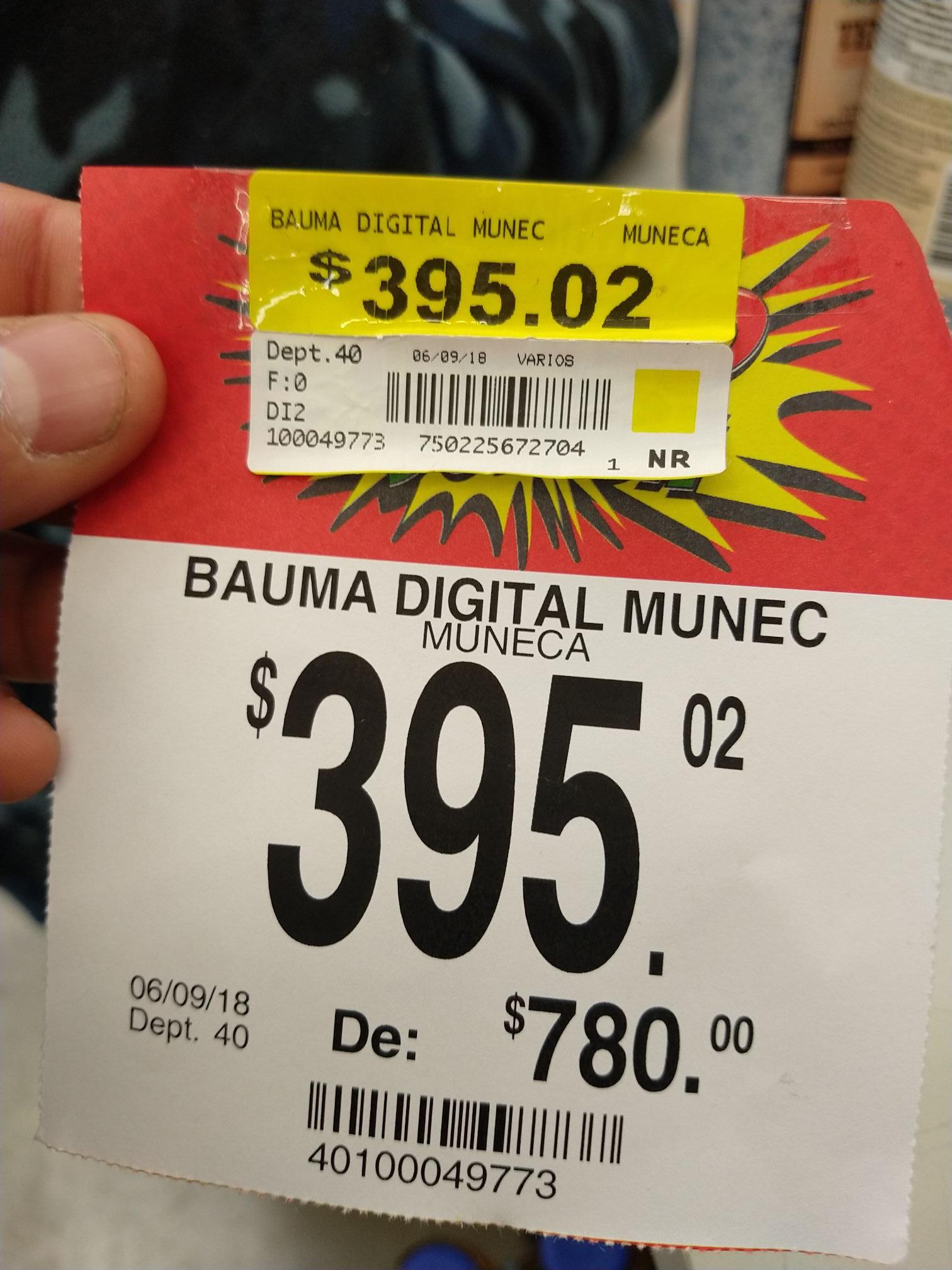 Bodega Aurrerá: Baumanómetro digital