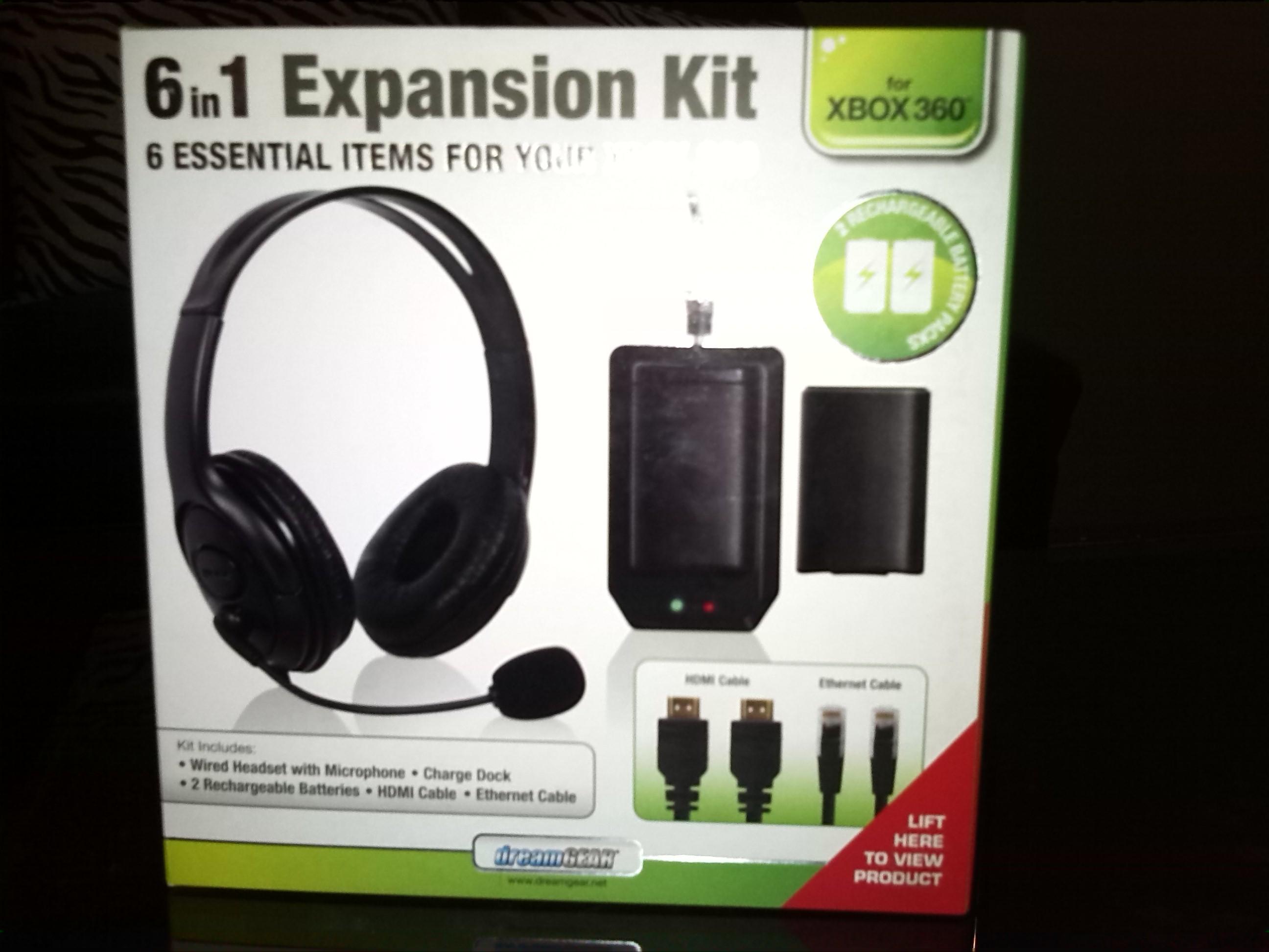 HEB: kit dreamgear para Xbox 360 a $49