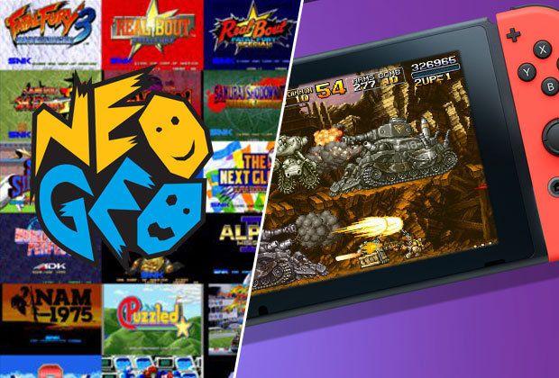 Nintendo eshop: Títulos de NEOGEO con 40% de descuento