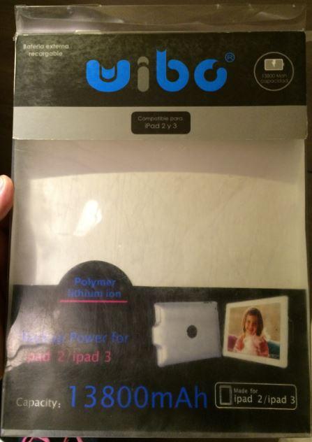 Sears, funda bateria para ipad 2 & 3 de 13800 mAh a solo $99, precio original $1799