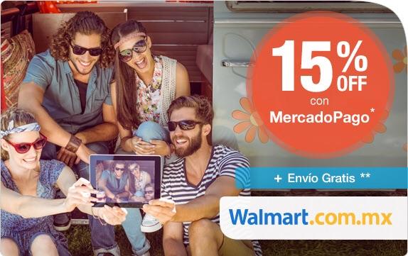 Walmart: 15% de descuento pagando con Mercadopago