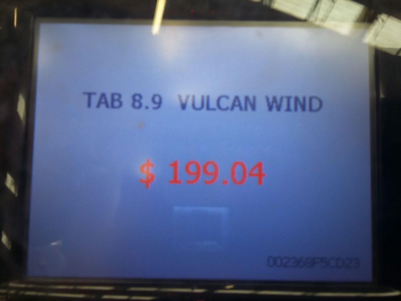 """Walmart: Tablet vulcan de 8.9 """" a $199.04"""