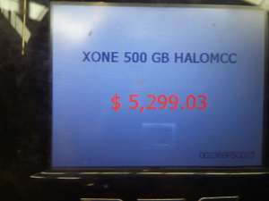 Walmart: Xbox One 500 gb + Halo master chief a $5,299.03