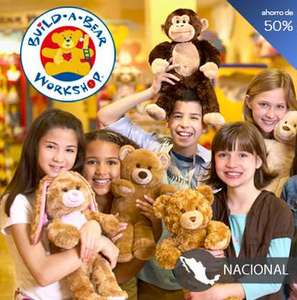 Certificado de $200 para Build-A-Bear por $100