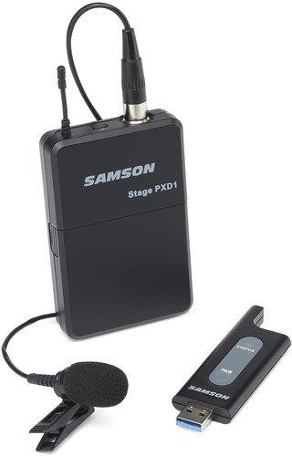 "Amazom mx: Samson SWXPD1BLM5 microfono USB ""SIN CABLES"" Pilas AA"