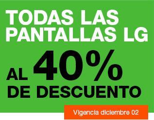 La Comer: 40% de descuento en pantallas LG y 20% de bonificación en farmacia