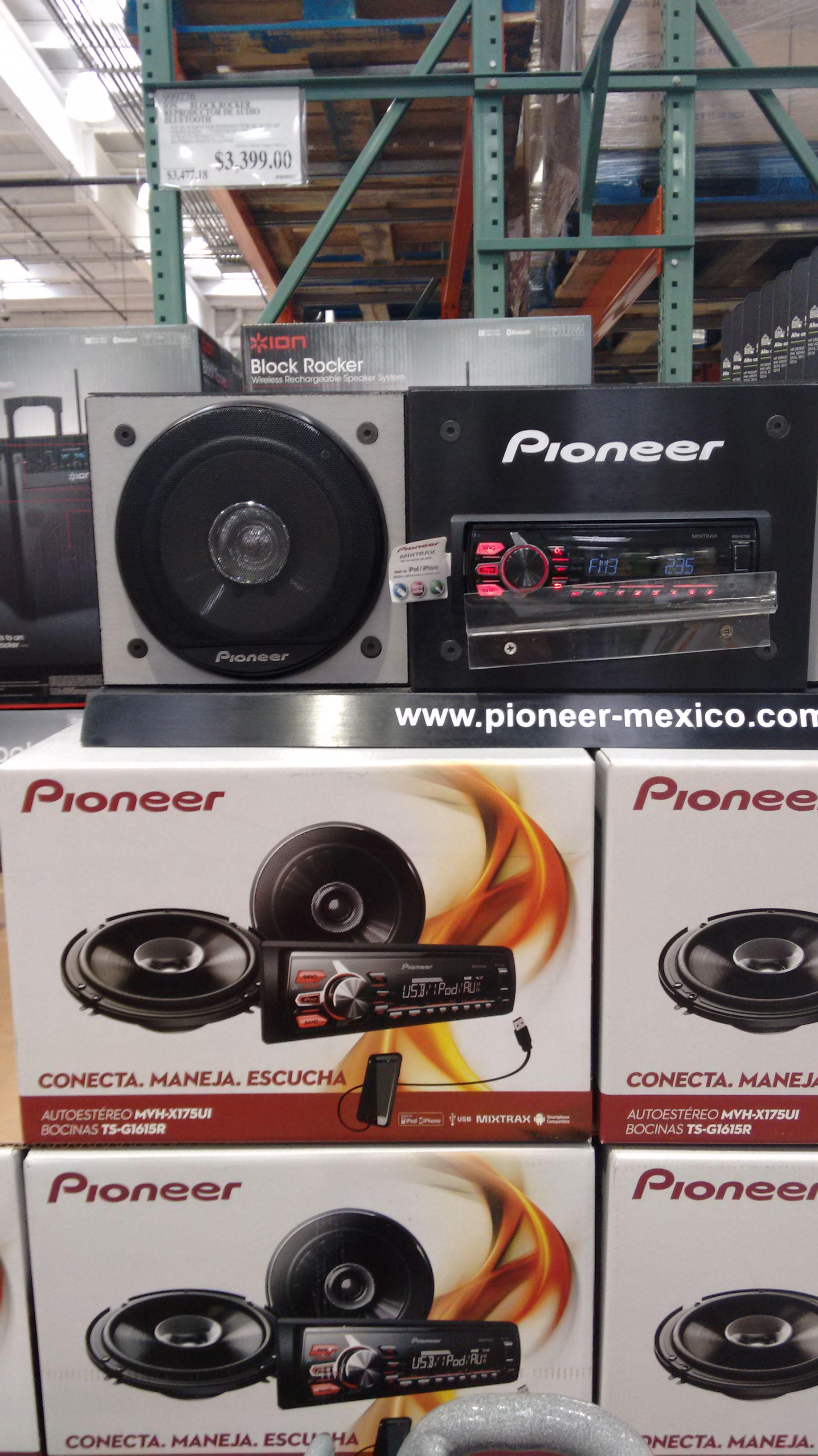 COSTCO: ESTEREO PIONEER CON BOCINAS a $1,099 Y AUDIFONOS PIONEER a $199