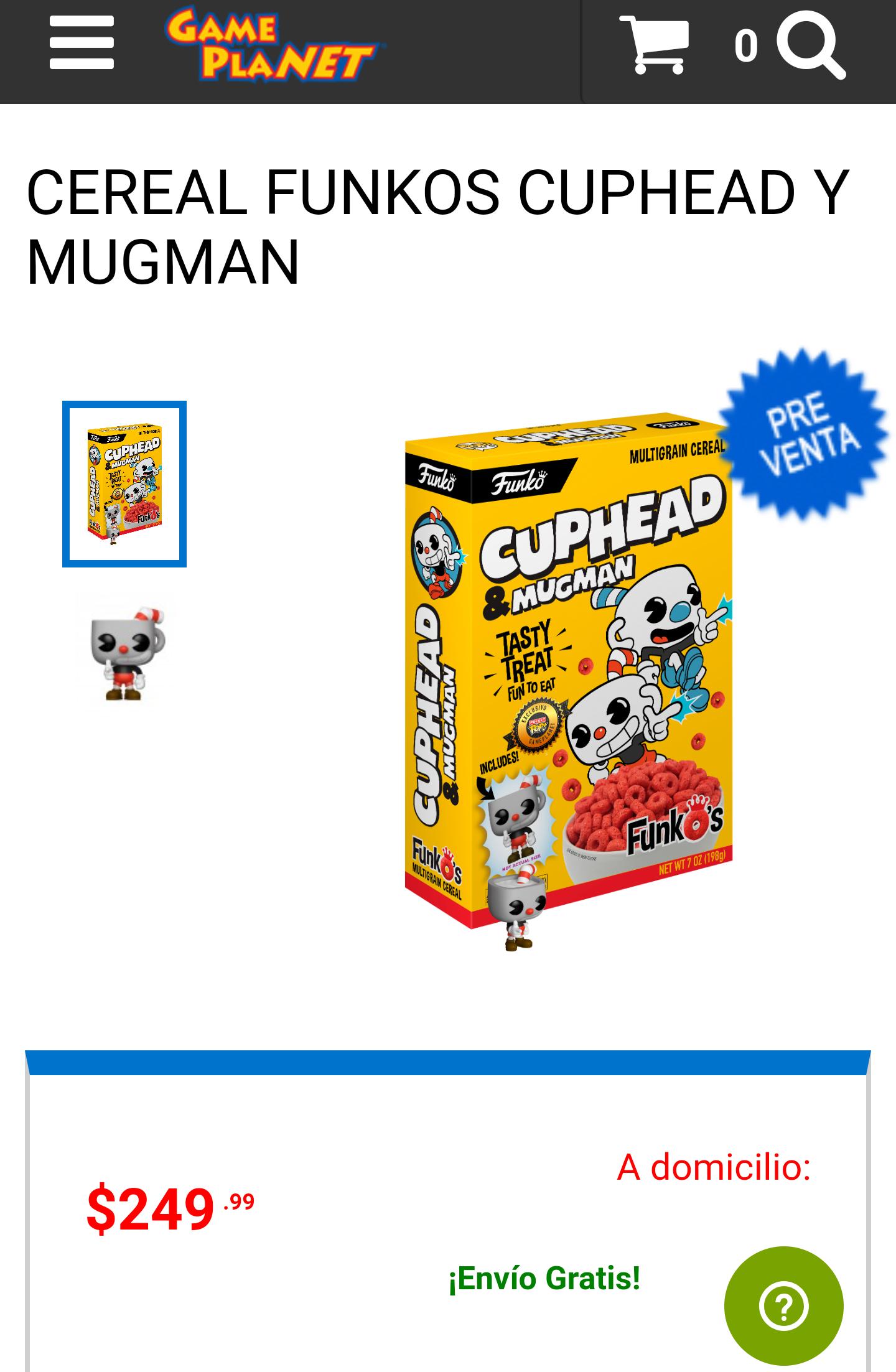 Game Planet: FunkOs ( Cuphead & Mugman )