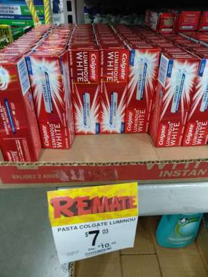 Bodega Aurrerá: Colgate Luminosos Whitehead 23ml