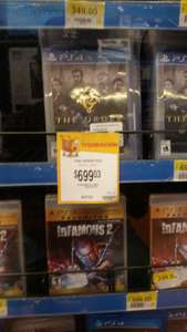 Walmart: The Order para PS4 a $699.03