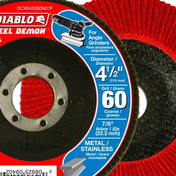 """Home Depot: Discos diablo de corte y disco de flap incluido para esmeriladoras 4.5"""""""