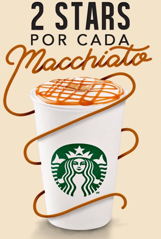 Starbucks: 2 Stars en Macchiato