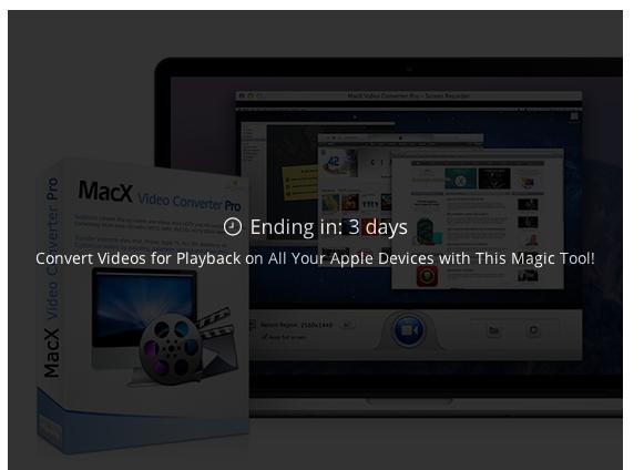 MacX Video Converter Pro - gratis (stacksocial.com)