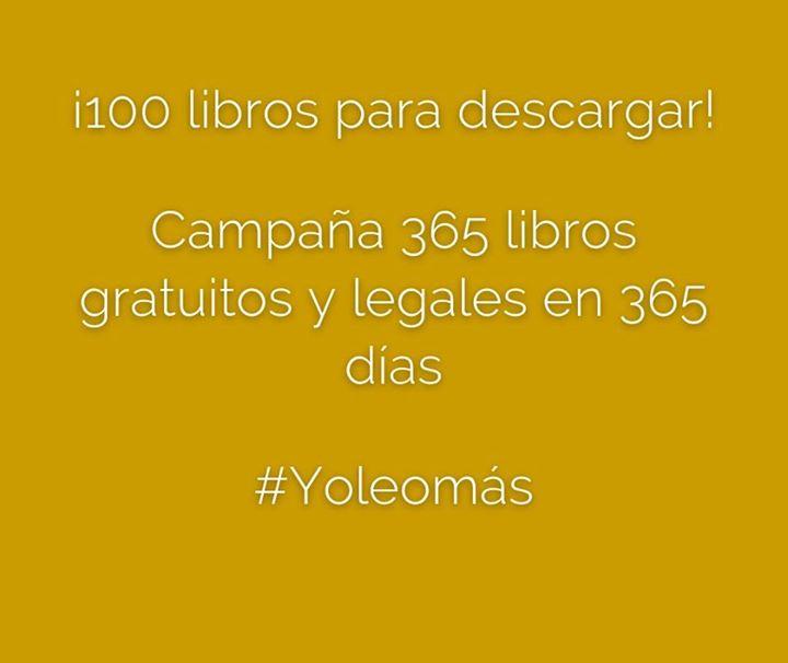 100 Libros digitales gratis, totalmente legales.