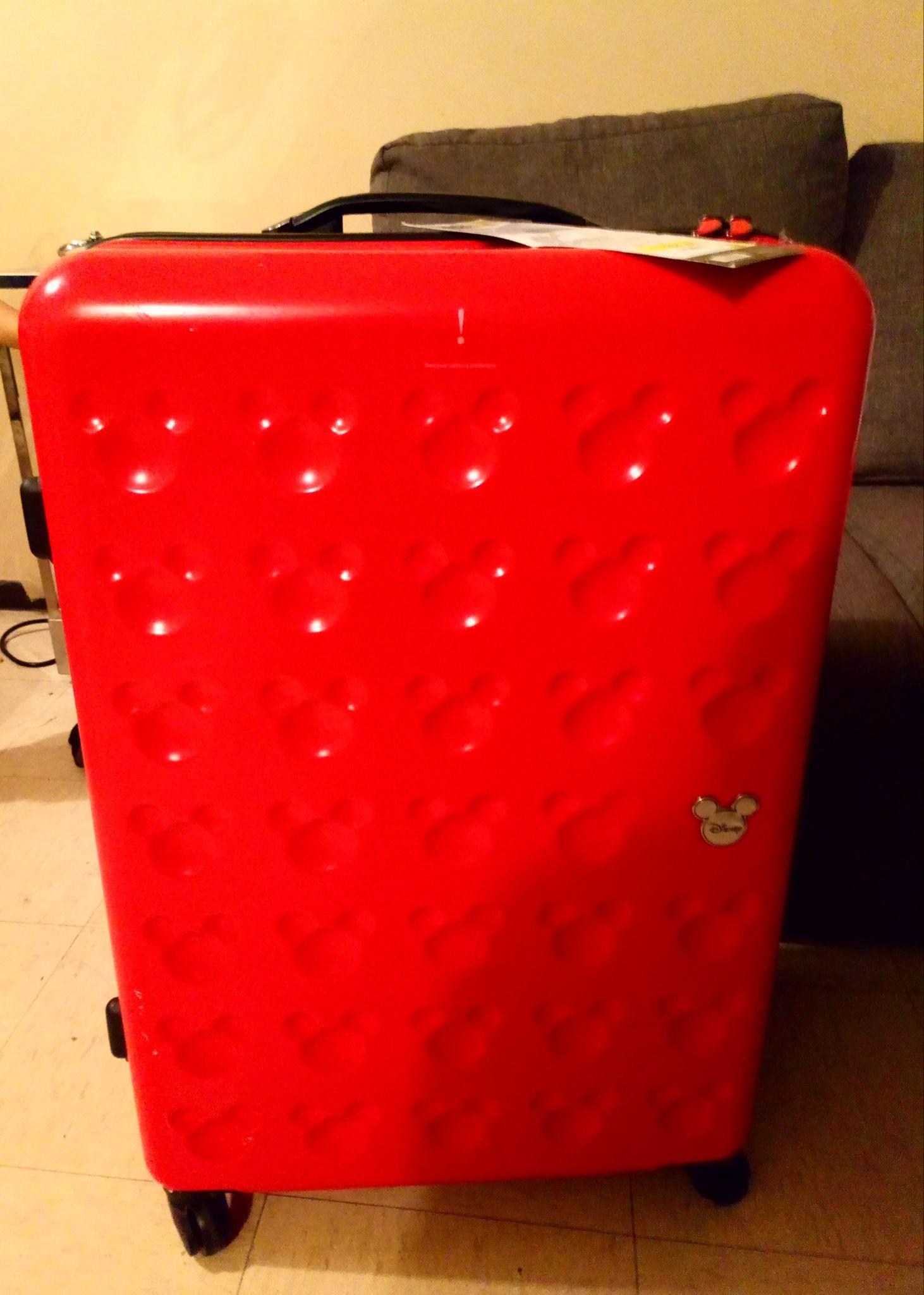 "Walmart: maleta rigida 28"" mickey mouse"