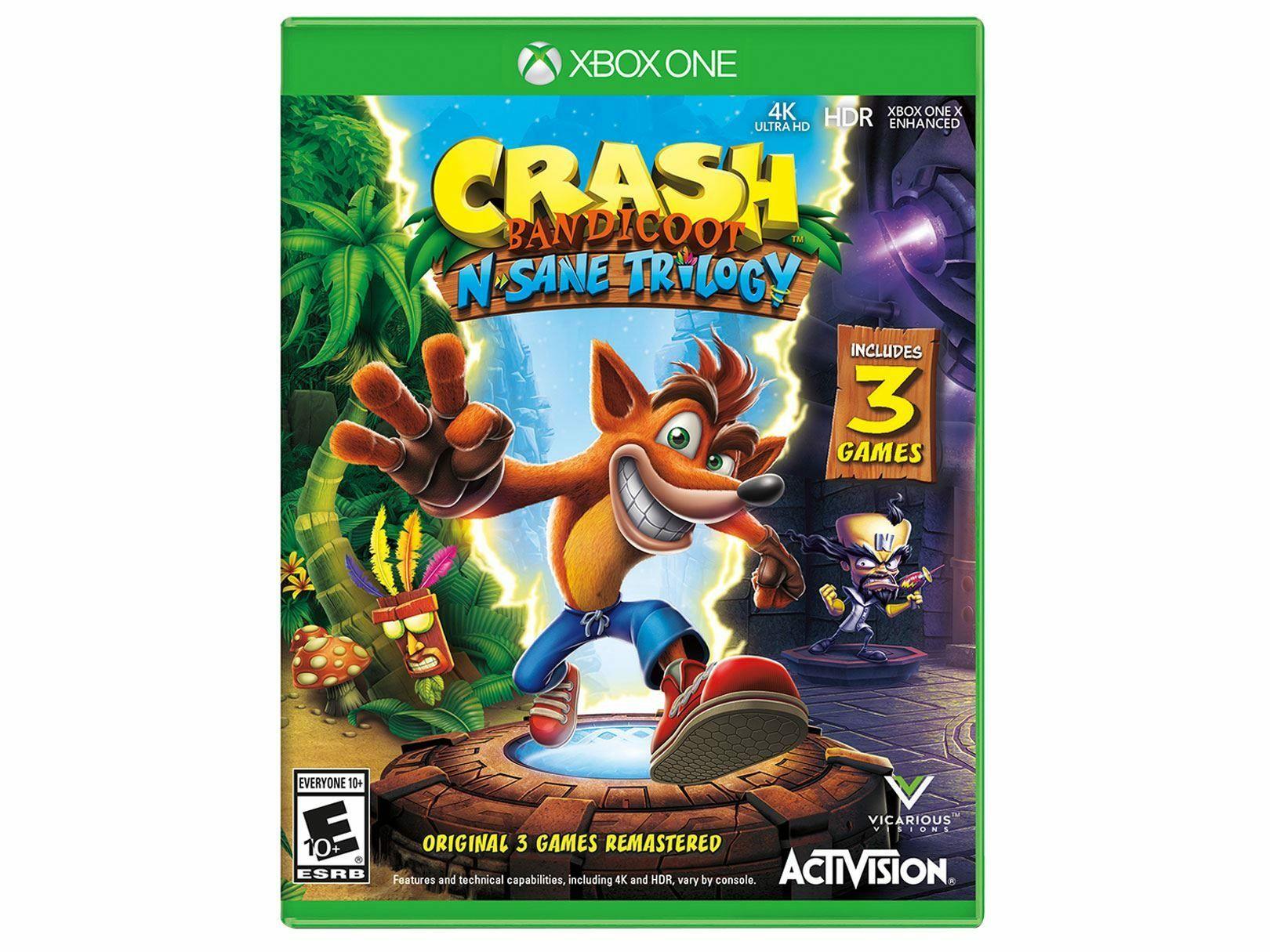 Xbox One Crash Bandicoot Ms Store