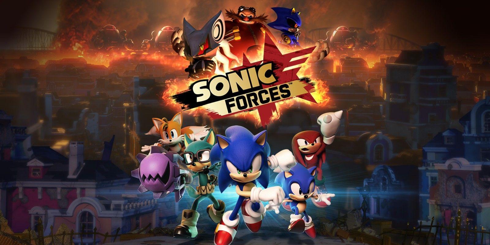Eshop: 40% de descuento para Sonic Forces