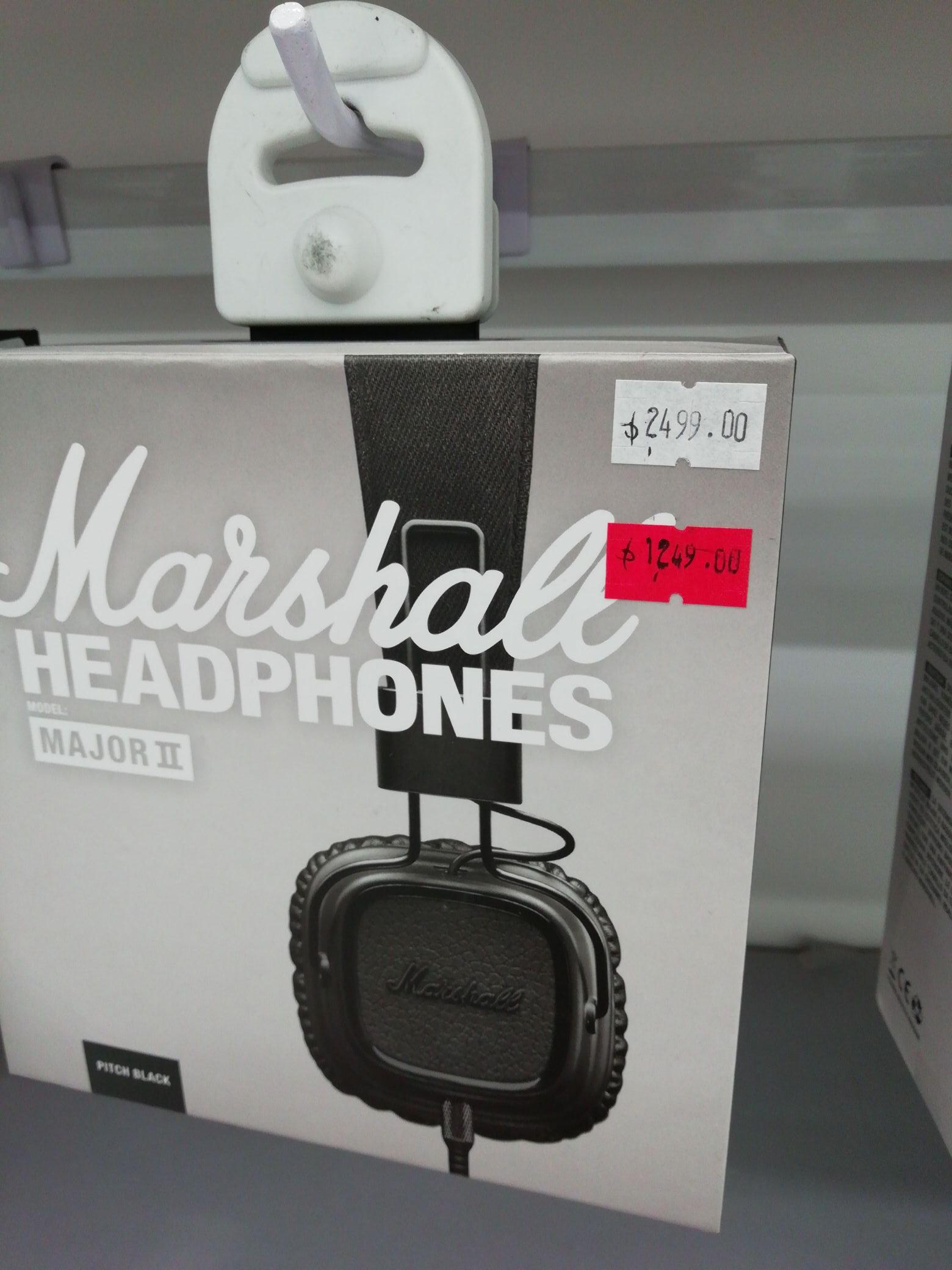 Mixup: Audífonos Marshall al 50%