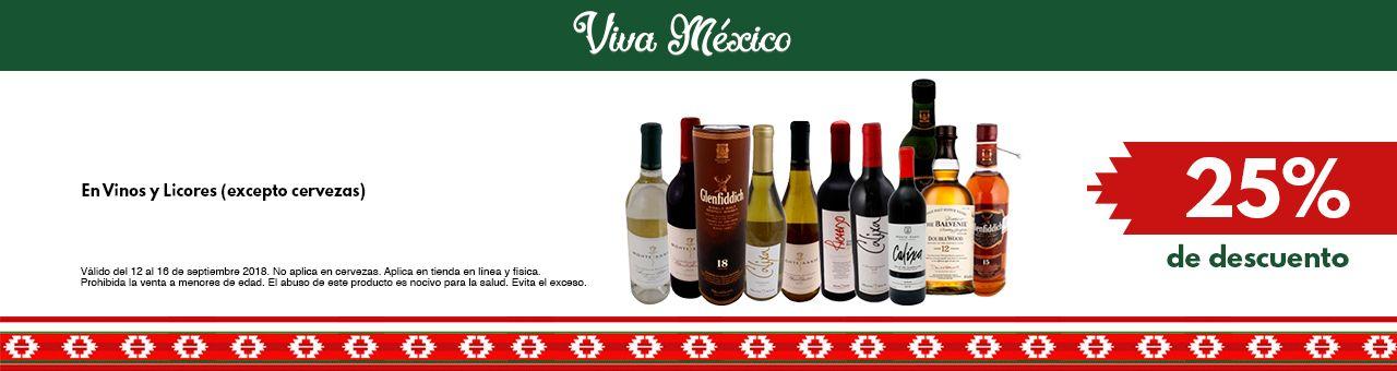 Chedraui: 25% de descuento en Vinos y licores (TIENDA FÍSICA)