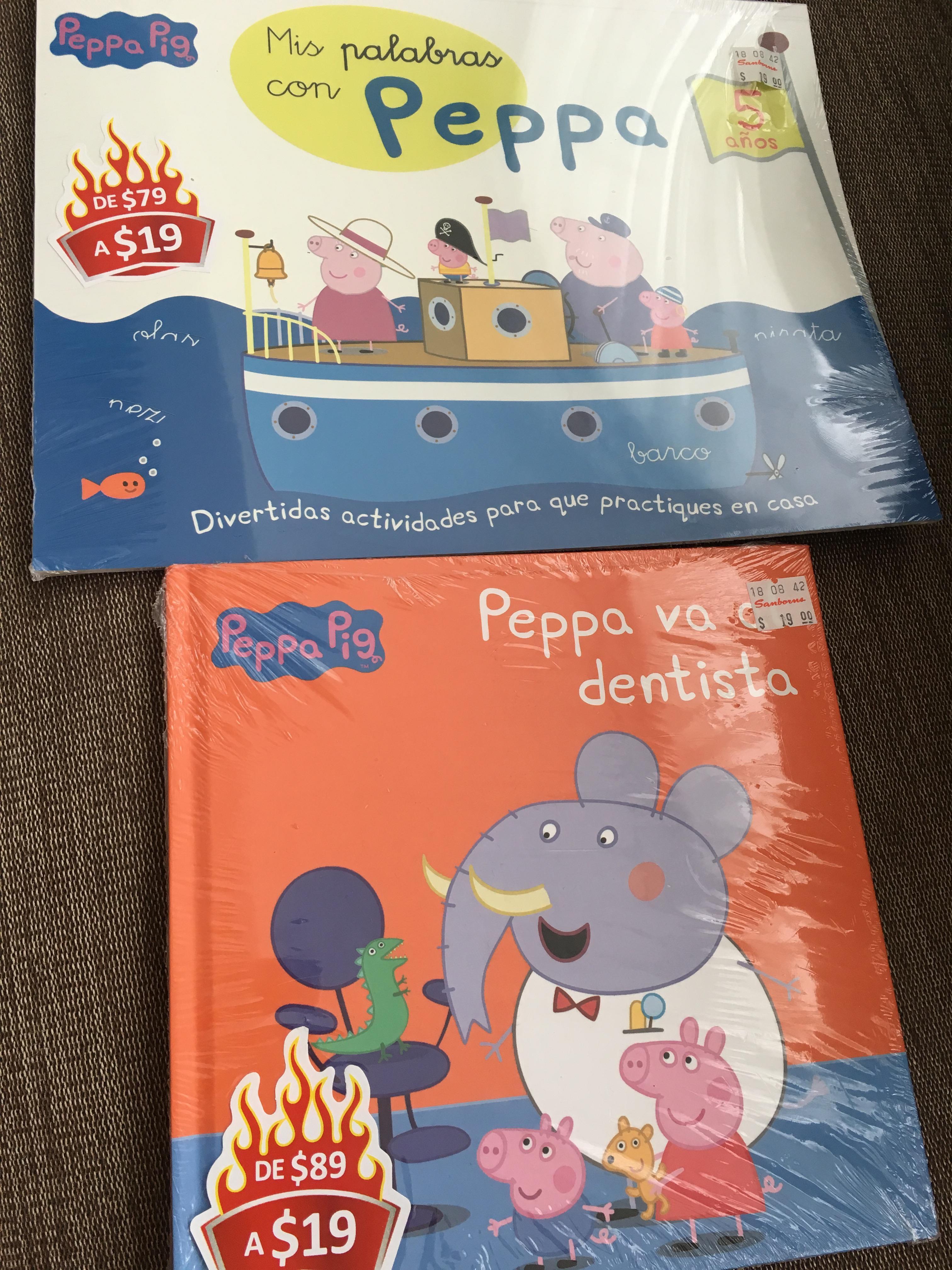 Sanborns Patriotismo: Libro de Actividades y Cuentos de Peppa Pig $19