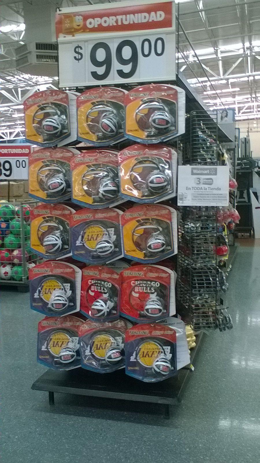 Walmart: minitableros de Basketball a $99