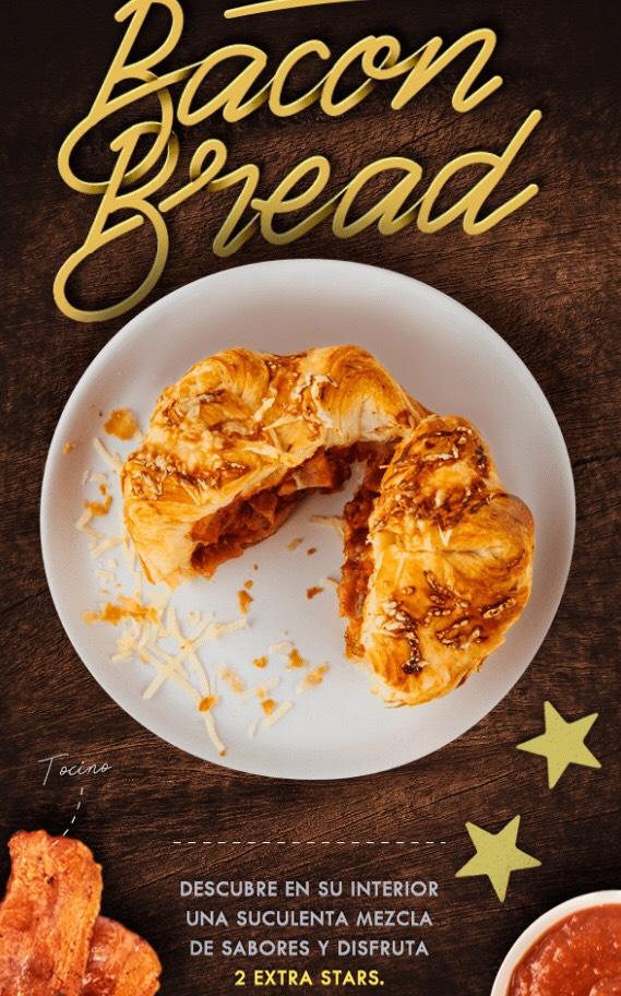 Starbucks: 2 Stars en Bacon Bread