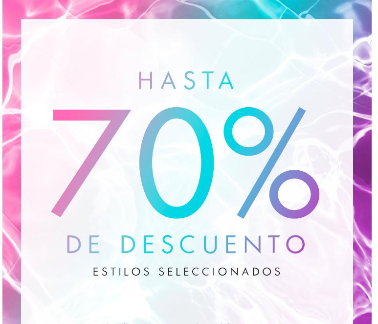 Hasta 70% de descuento en guess.com.mx
