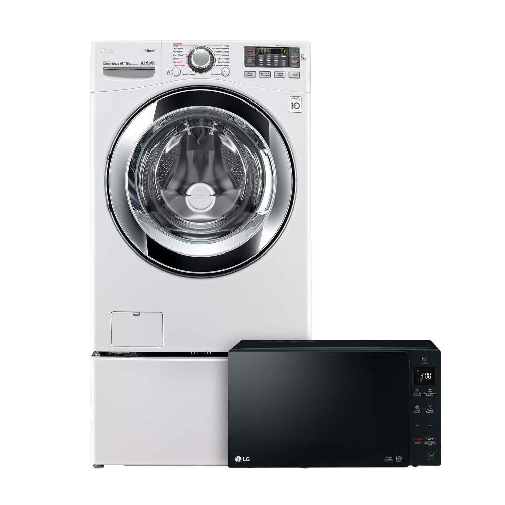 Sam's Club: Lavasecadora  LG  de 20 kg  de $13,133.50 y horno  de microondas LG de costo $2699