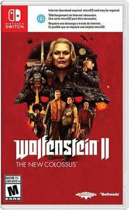 Amazon: Wolfenstein II: The New Colossus Nintendo Switch