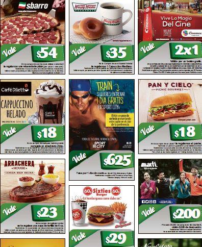 Cupones: 2x1 para Cinemex, capuchino en Krispy Kreme, $200 en Martí y más