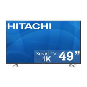 Sam's Club: Pantalla Hitachi 49'' 4k Smart TV