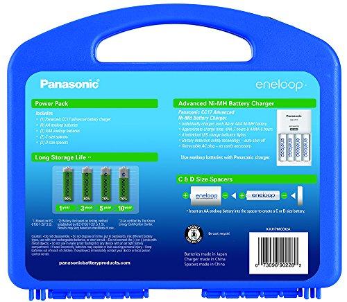 Amazon: Eneloop power batery (panasonic bateria recargable NI-Mh)