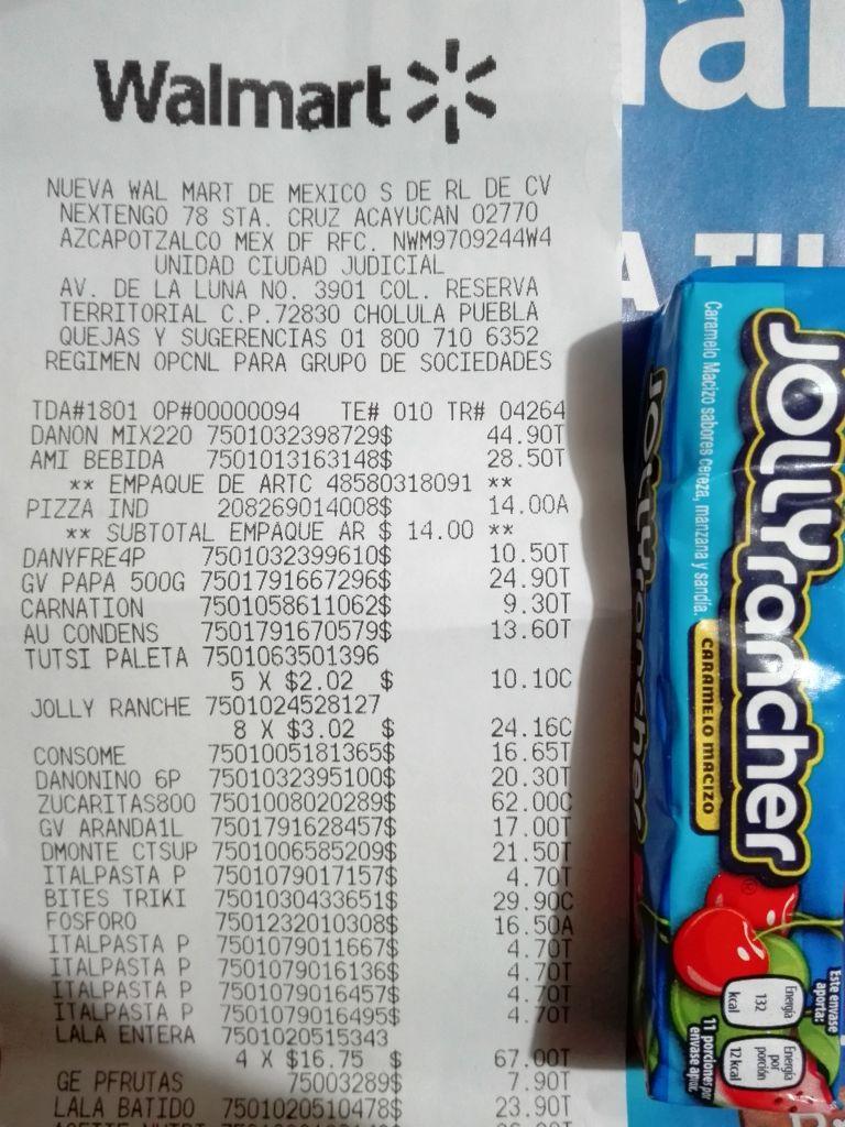 Walmart: Dulces macizos Jolly Rancher