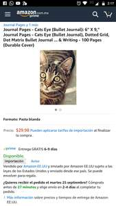 "Amazon: Libreta de notas - Pasta Durable 6"" x 9"""