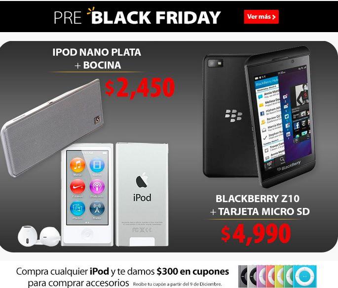 Pre Black Friday Walmart: laptop Vaio Duo $9,990, Blackberry Z10 $4,990 y más