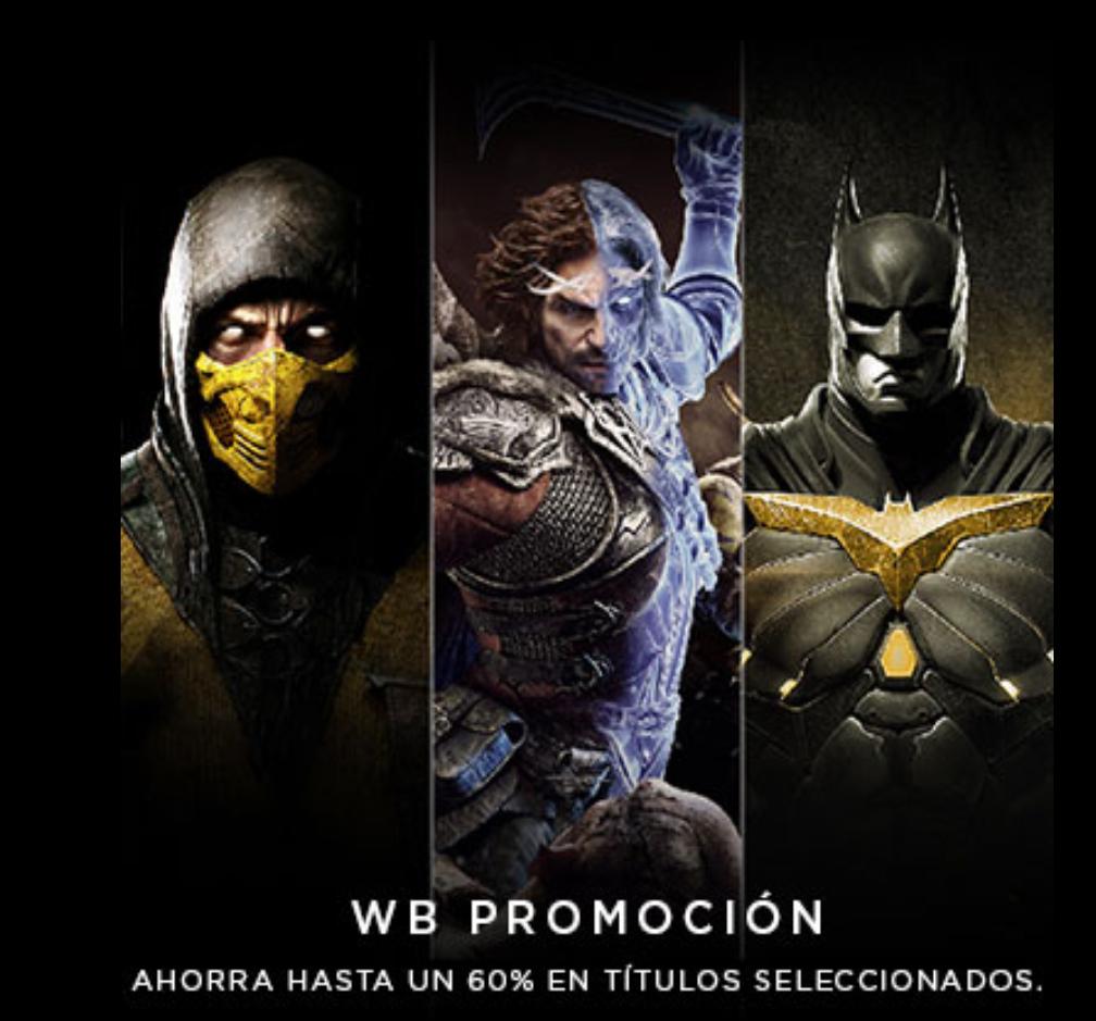 Playstation Store: Venta Warner Bros.