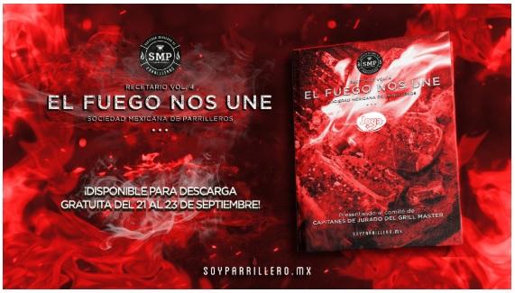 """Soyparrillero.mx: Recetario """"el fuego nos une vol.4"""" descarga digital graaaaatis (del 2 al 4 de Nov)"""