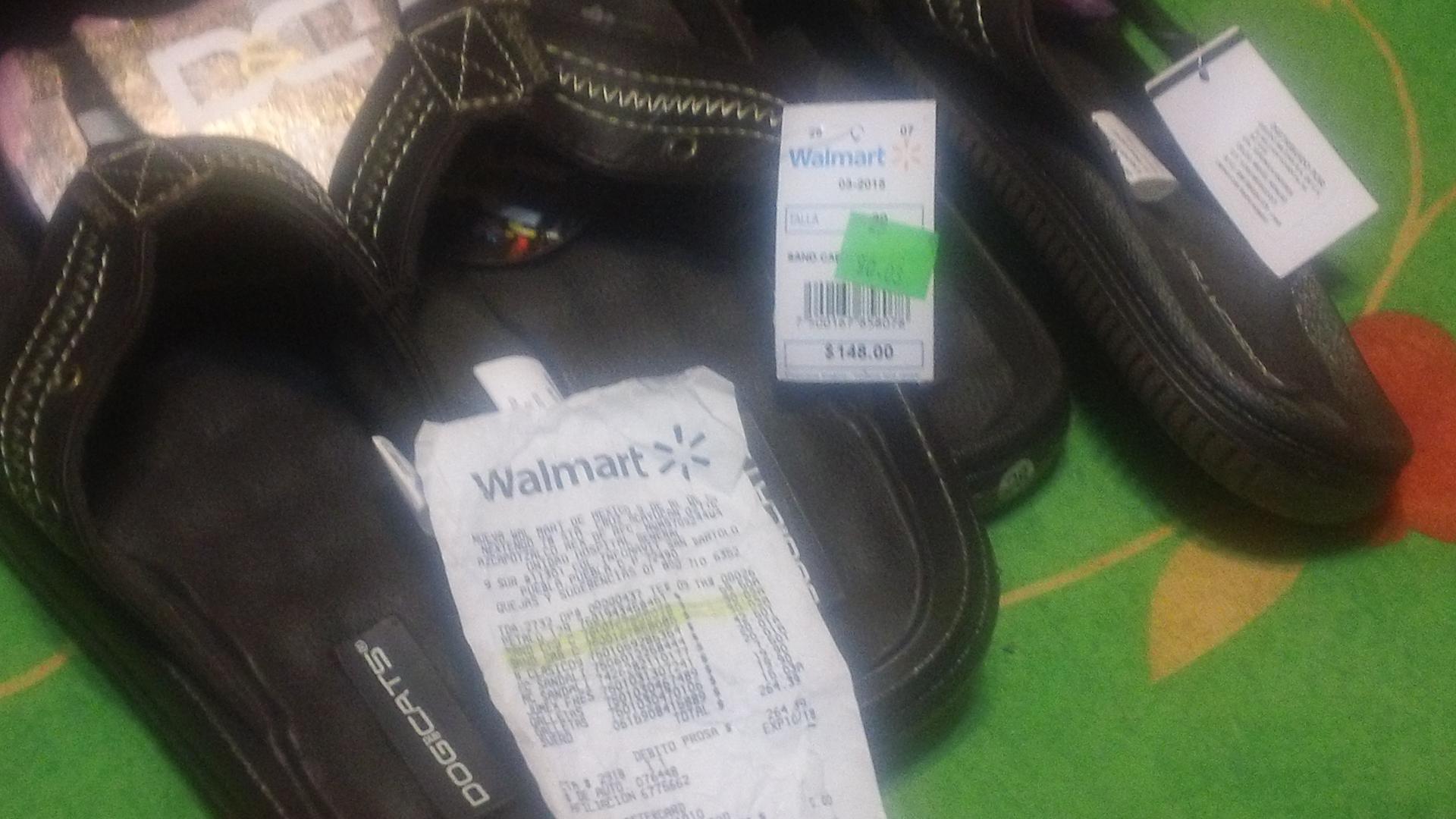 Walmart: Sandalias para toda la familia desde $30.02
