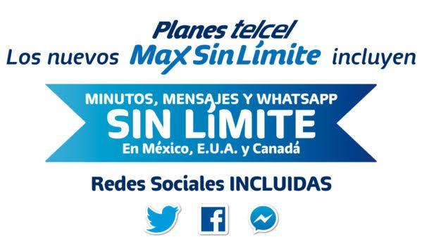 Telcel: Max sin límite 7000. 20 Gigas al mes en plan libre (Sólo para usuarios que hagan portabilidad, leer descripción)