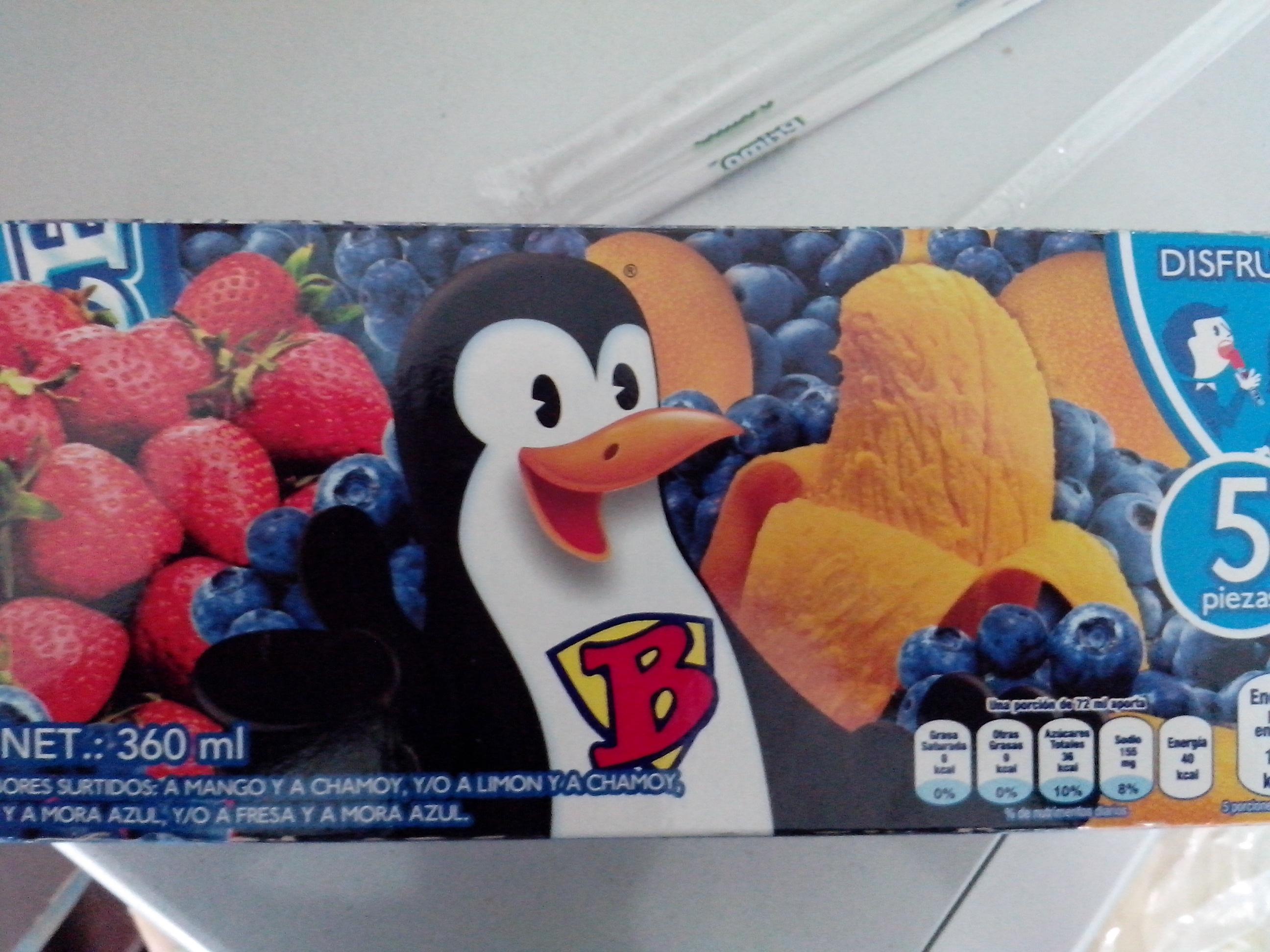 Chedraui: 5 Bon Ice a $15.90