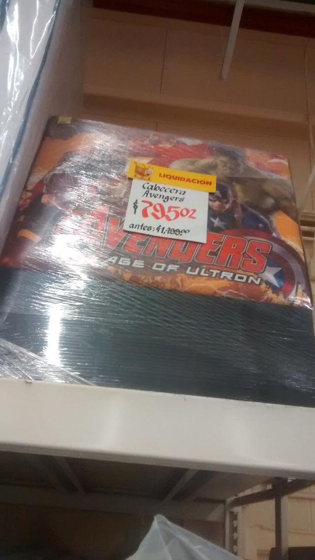 Walmart: Cabecera individual Avengers a $795.02