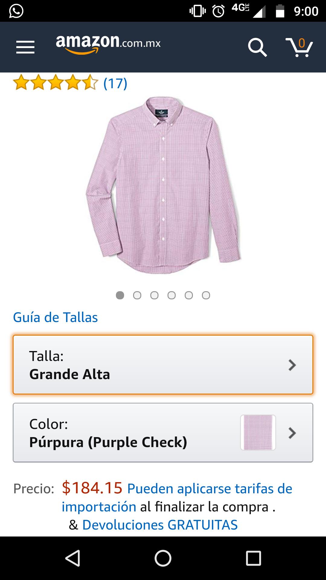Amazon: hermosa y elegante camisa 100% de algodón más barata que en tianguis (talla grande alta)