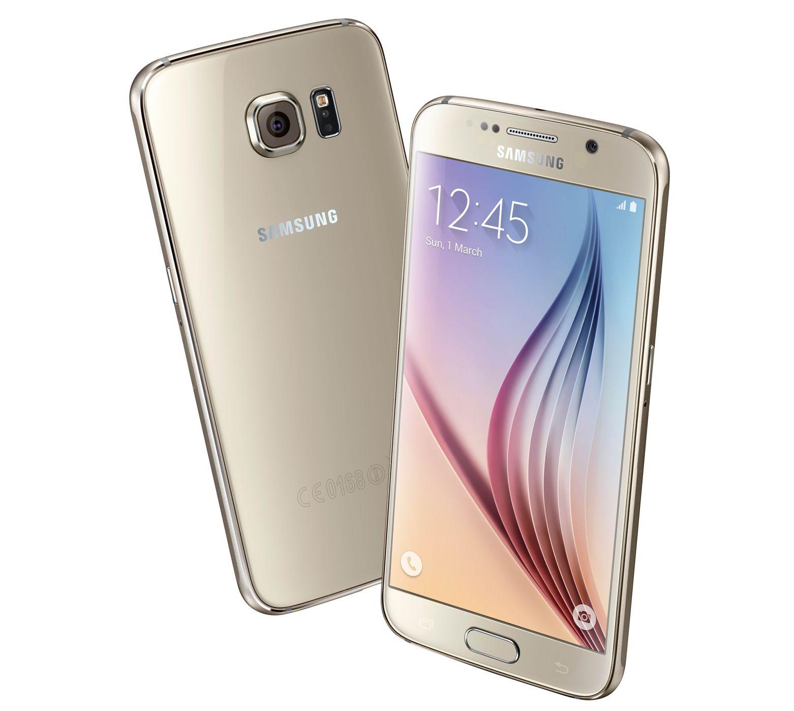 LINIO: Galaxy s6 flat dorado en $8,845