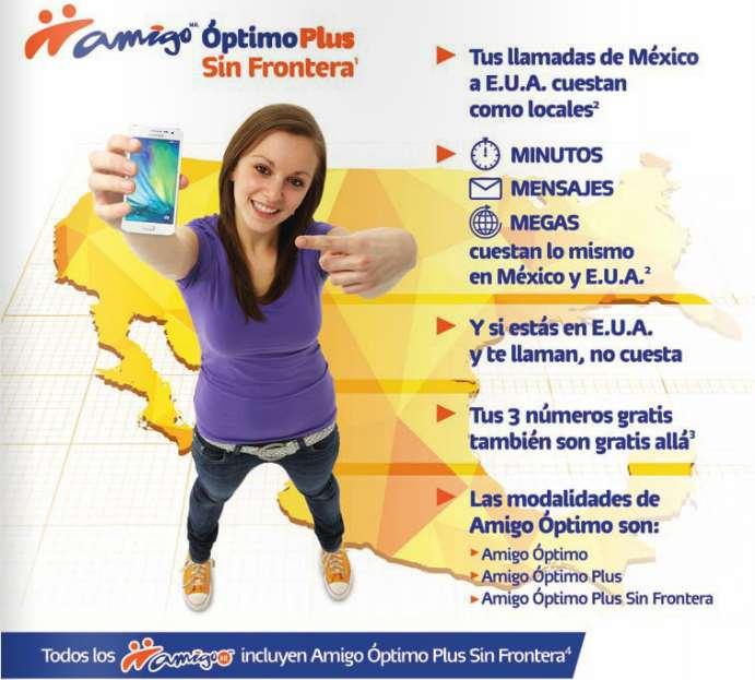 Telcel sin fronteras: roaming gratis en Estados Unidos con Amigo Ótpimo